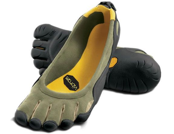 I'd love to give these barefoot running shoes a try.