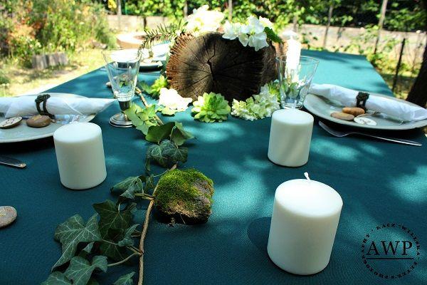 wedding store in the garden