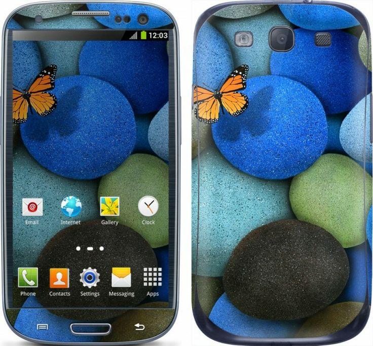 M. Yerli - Mavi Taşlar Galaxy S3 Skin | FonModa