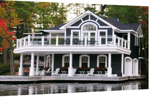 Dark Blue Siding Boat House Siding Door Pinterest