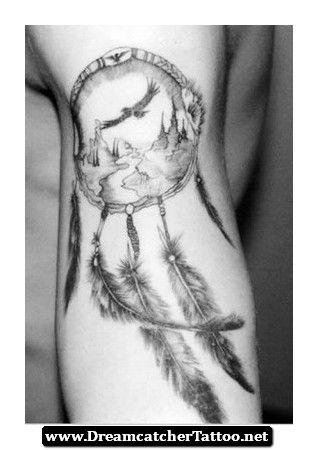 Indian Dreamcatcher Tattoo Meaning 16 - http://dreamcatchertattoo.net/indian-dreamcatcher-tattoo-meaning-16/