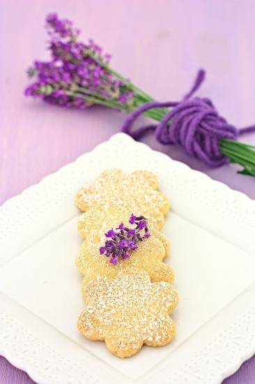 Petits Biscuits Lavandes ~ Frollini alla Lavanda