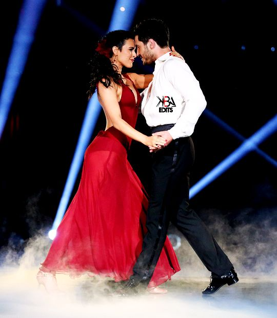 Dancing With the Stars - Val Chmerkovskiy, Rumer Willis & Artem Chigvintsev dance a spectacular rumba - to _________  - season 20 - week-8  -  spring 2015  - score - 10+10+10+10 = 40 - &, after 2 perfect scores, danced an encore of their trio-paso-doble the following results night