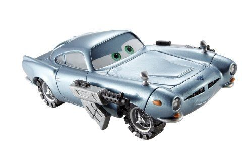 Cars 2 1:55 Lights And Sounds Spy Mcmissile Vehicle by Mattel. $9.99. Engines make revving noises and characters say their favorite film phrases. Based on characters from the new hit Disney/Pixar film - Cars 2. They?re sure to drive kids completely wild. Die-cast 1:55 scale Cars 2 vehicles. Headlights turn on for nighttime racing. From the Manufacturer                Cars 2 1:55 Lights and Sounds Collection: Based on characters from the new hit Disney/Pixar film, ...