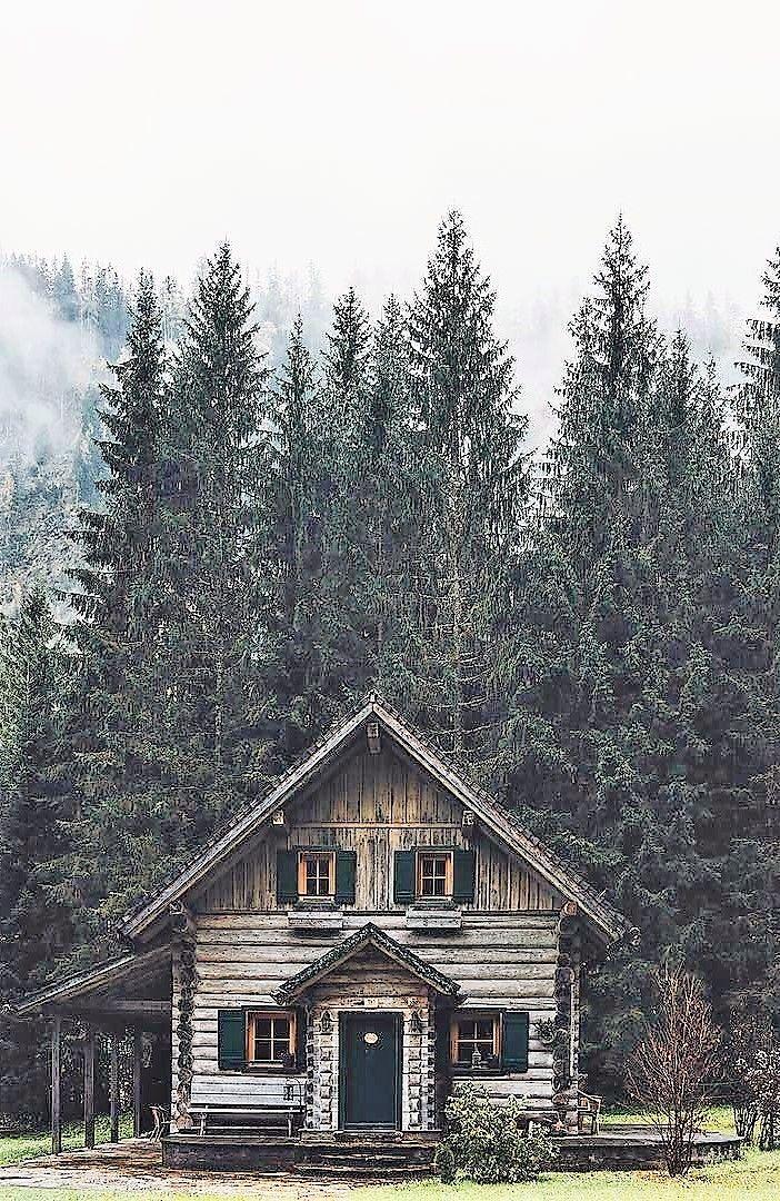 Pin by Naaturalyys ° on Maison bois in 2018 Pinterest Cabin - fenetre pour maison passive