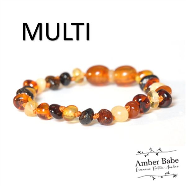 Amber Bracelet / Anklet Amber Babe Genuine Baltic Amber pieces are lovingly made from 100% Certified Genuine Baltic Amber, individually hand knotted in between each bead and finished with safety screw clasps.