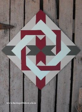 another great Barn Quilt Pattern... and they sell them if I decide I don't want to make one after all...