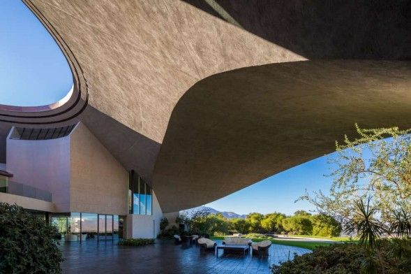 Bob Hope's house in Palm Springs by John Lautner