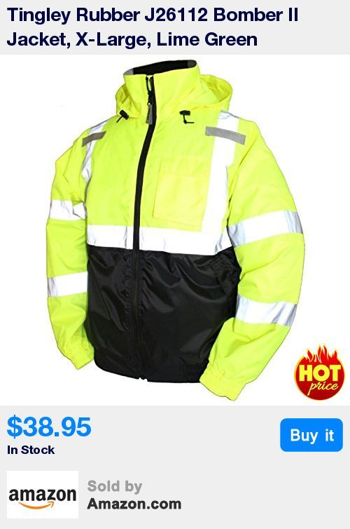 """ANSI/ISEA 107 Class 3 compliant, 100% waterproof, jacket for high visibility * Fluorescent background material for excellent daytime visibility; 2"""" silver reflective tape reflects light for 360Degree nighttime conspicuity * Quilted polyester lining provides warmth and comfort; complete freedom of movement; Roll-a-way hood in collar * Slash front pockets with closure; left breast radio pocket with flap closure; Dark-colored front helps conceal dirt * Stitched and taped seams for 100% waterpro"""