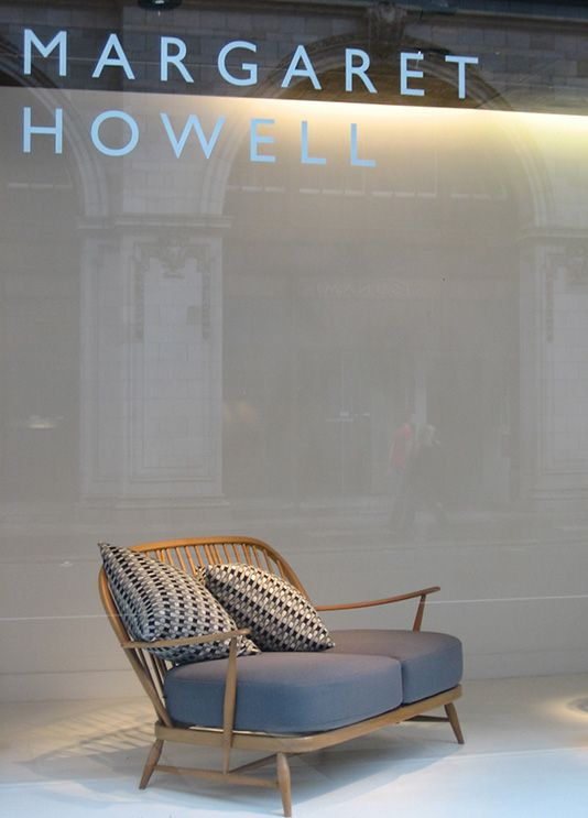 sofa & cushions - dream daybed / sofa couch . Mid century modern elegant.