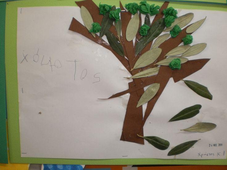 Olive Tree Craft Fun For Kids Pinterest Trees Tree