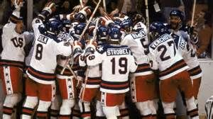 Feb. 22, 1980, the US olympic hockey team defeats the Soviet Union in the olympics. Sports Illustrated ranked it as the greatest sporting event of all time. It was the first time the Soviets had even lost an olympic hockey game since 1968.