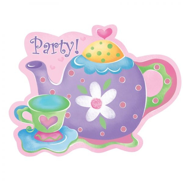 Best Invitations Images On   Tea Party Invitations