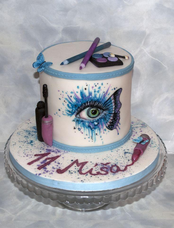 Dort - Makeup jinak - pro malou slečnu. Cake for little girl - makeup in another way.