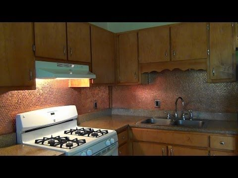 25 best ideas about penny backsplash on pinterest penny wall pennies and house bar - Incredible uses for copper pennies ...