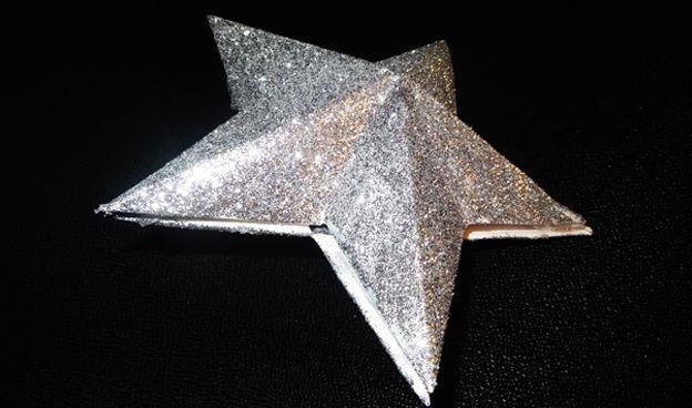 #Noël : une #étoile de sapin #DIY
