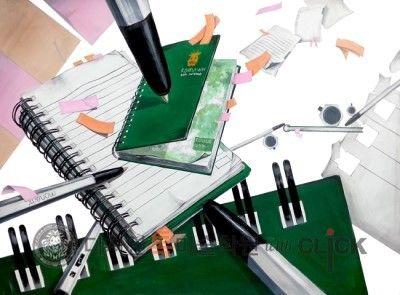 안녕하세요 :) 송파 톡 with click 미술학원입니당 이번에는 학생들이 평소에 학원에서 열심히 그렸던 그림...