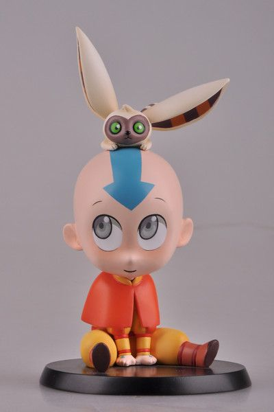 Crunchyroll - Chibi Aang and Momo Non-Scale PVC Kit ...