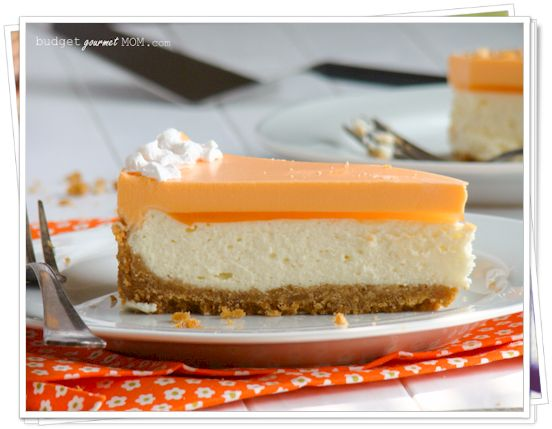 Orange Creamsicle Cheesecake - Low Carb Yummies! - I crave this in my sleep!!!!!