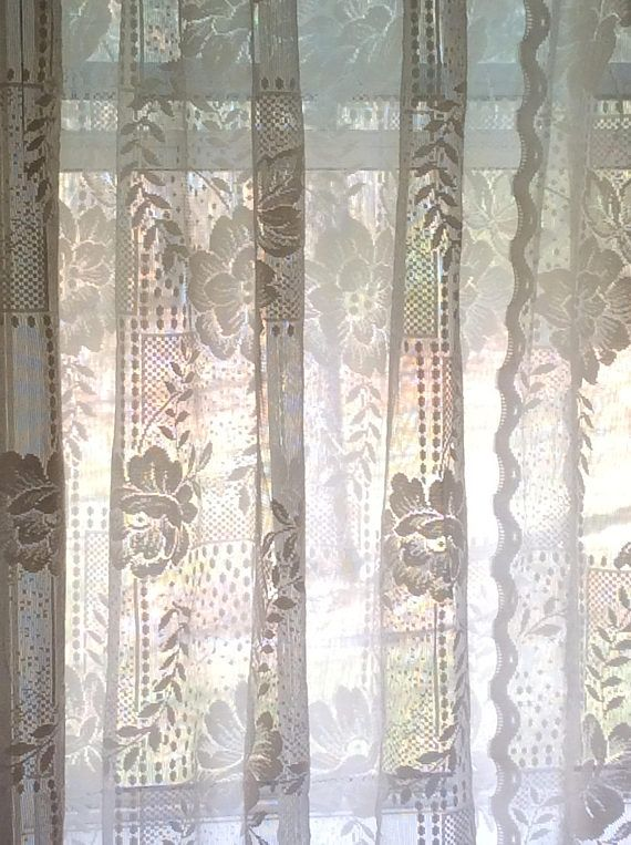 17 Best ideas about Lace Curtains on Pinterest | Lace window ...
