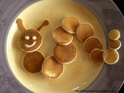 """the pancake project"" - tons of super cute ideas to spice up the traditional pancake!"