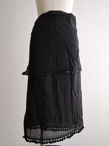 ドーサ DOSA タッセルパレオスカート