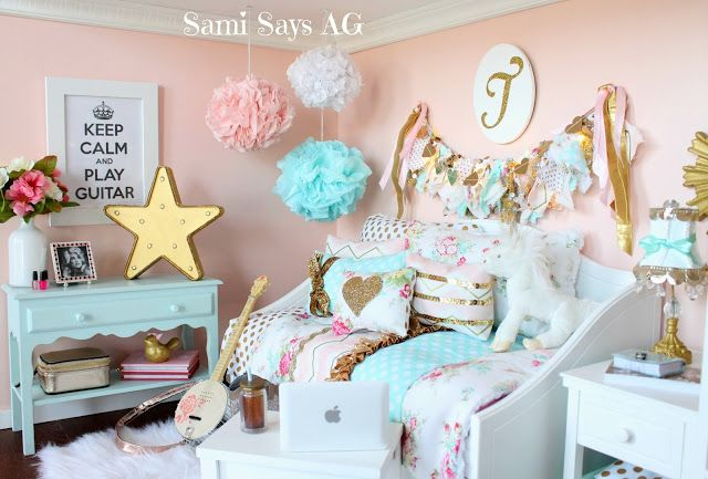 Sami Says AG-- American Girl Doll House Room, Tenney Grant