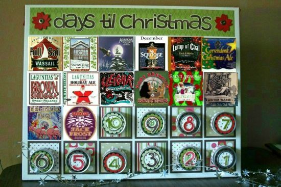 There are Beer and Whiskey Advent Calendars Now (Plus, DIY Ideas)
