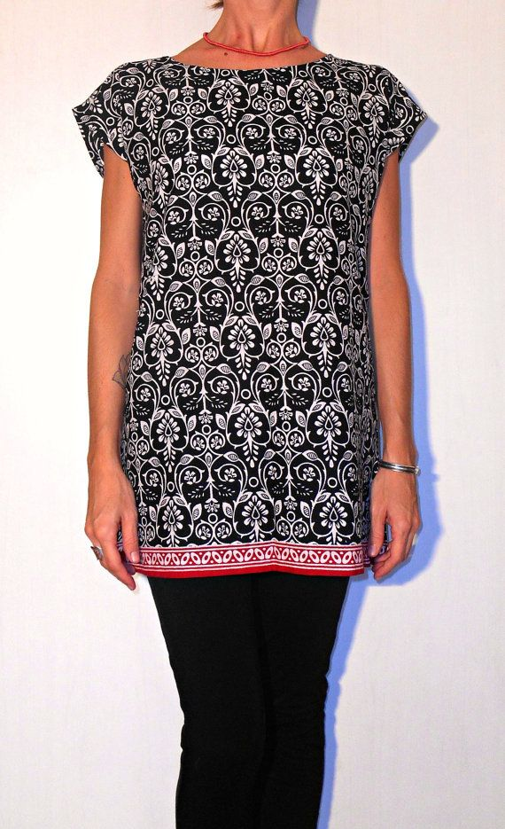 #Handmade #clothing #women #tunic #blouse #indian #cotton #christmas #gift by ITINLab https://www.etsy.com/listing/199148277/handmade-clothing-women-tunic-blouse