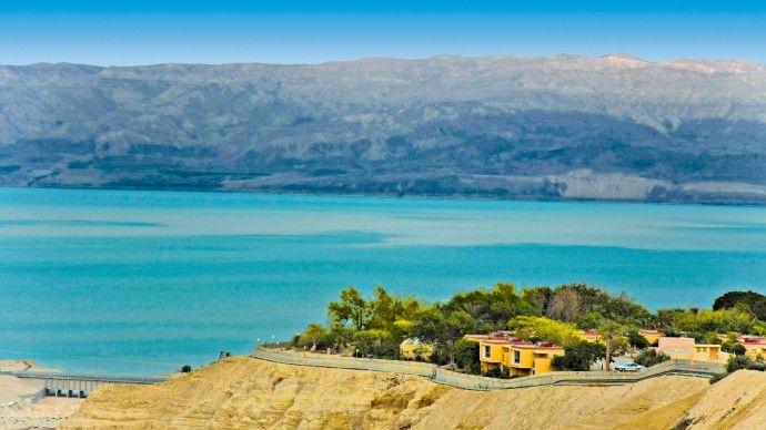 Prawdziwy kibuc i hotel uzdrowiskowy nad Morzem Martwym - hotel Ein Gedi