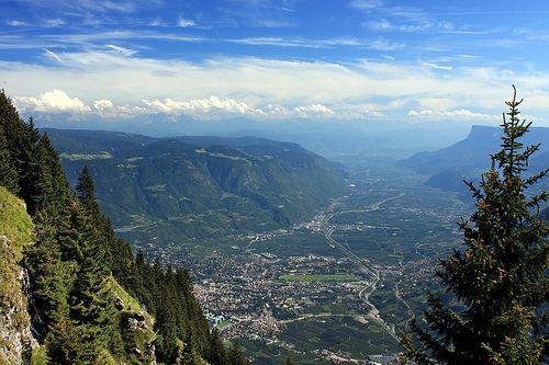 Südtirol - Blick ins Meraner Land