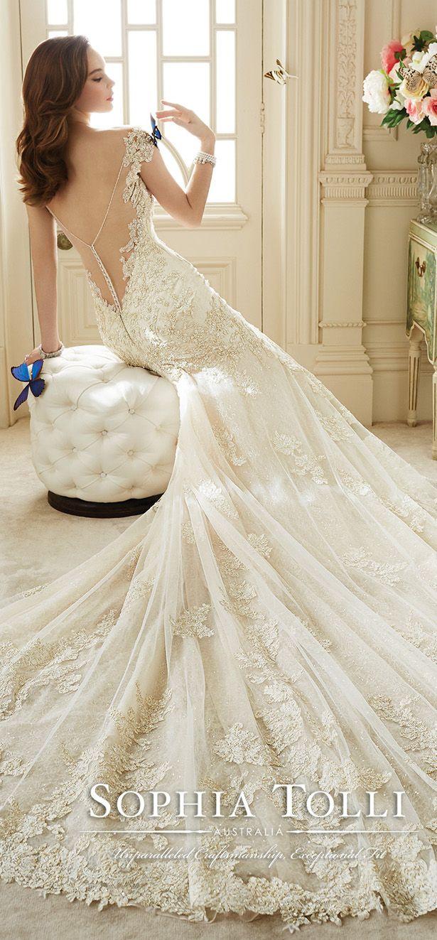 Sophia Tolli Spring 2016 Wedding Dress