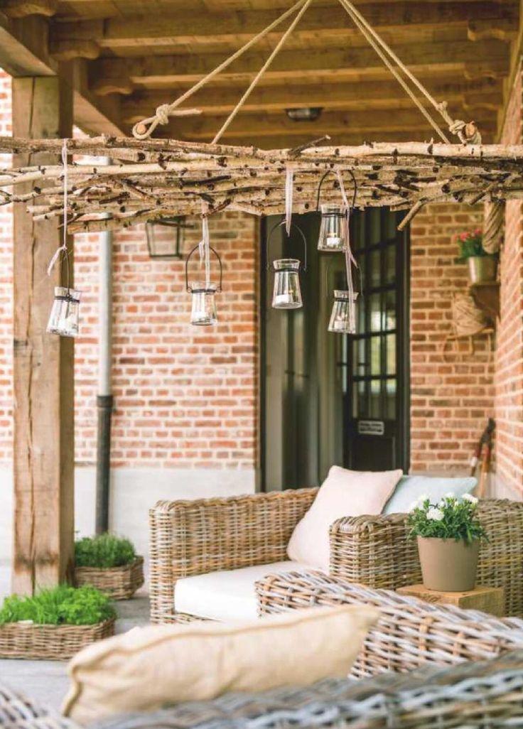 100 beste afbeeldingen over overdekt terras op pinterest tuinen buitenleven en buitenbank for Overdekt terras