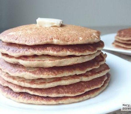 Hot cakes de avena y plátano. Receta