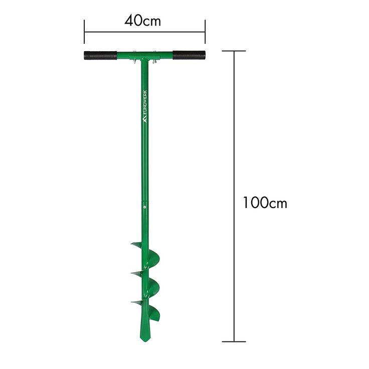 Fundwerk Handerdbohrer, Durchmesser 100 mm