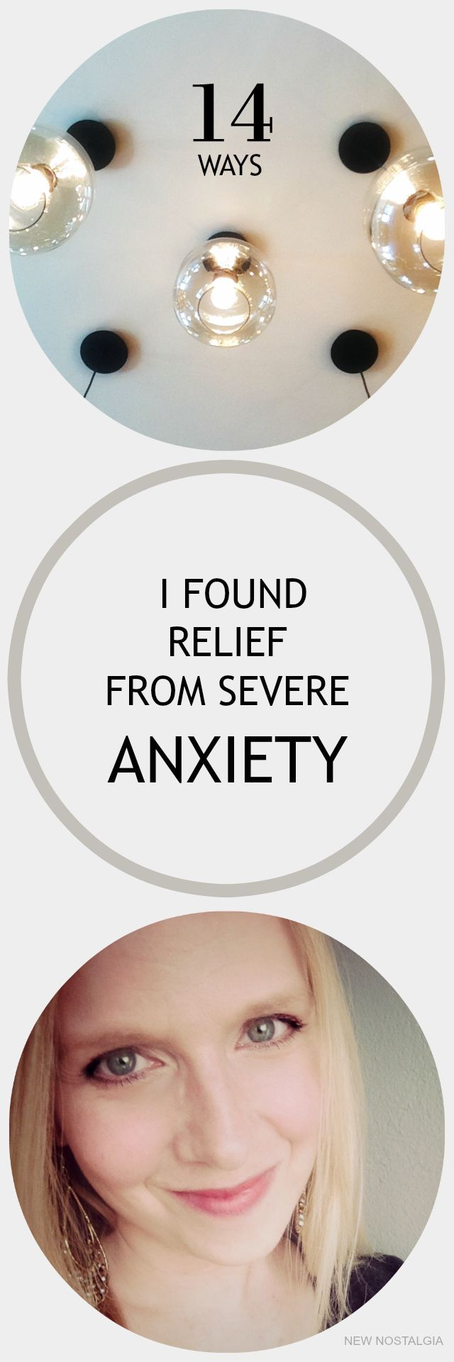 """14 Ways I Found Relief From Severe Anxiety via New Nostalgia """"When you want to just curl up in a ball and stay in bed all day please know that there is hope. When your hearts feels like it is pounding out of your chest and you really don't know why, know that there is hope. When you feel alone, know that you are not."""" #anxiety #mentalhealth"""