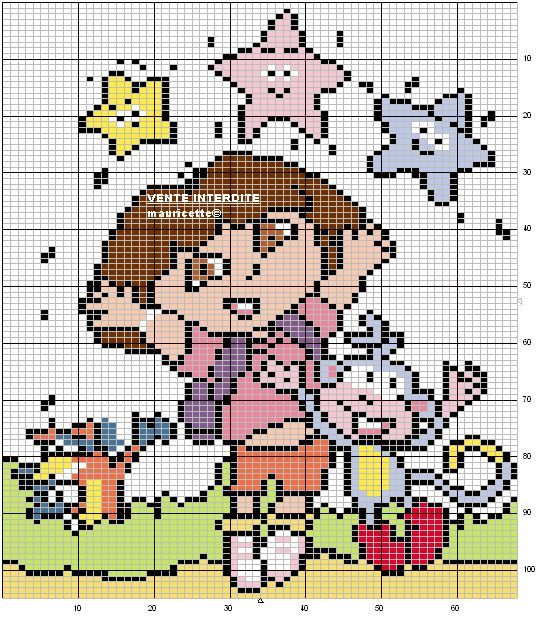 Free Disney Crochet Graph Patterns : 17 Best images about Crochet ~ Afghan Charts/Graphs on ...