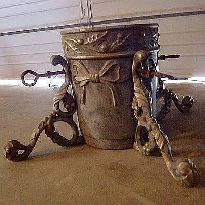 Victorian Christmas Tree Stand with Water Container