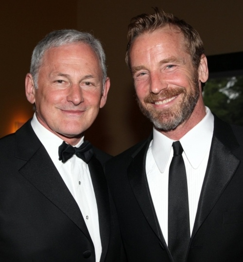 Victor Garber (actor) and his SUPER HOT boyfriend Rainer Andreesen (model & artist)