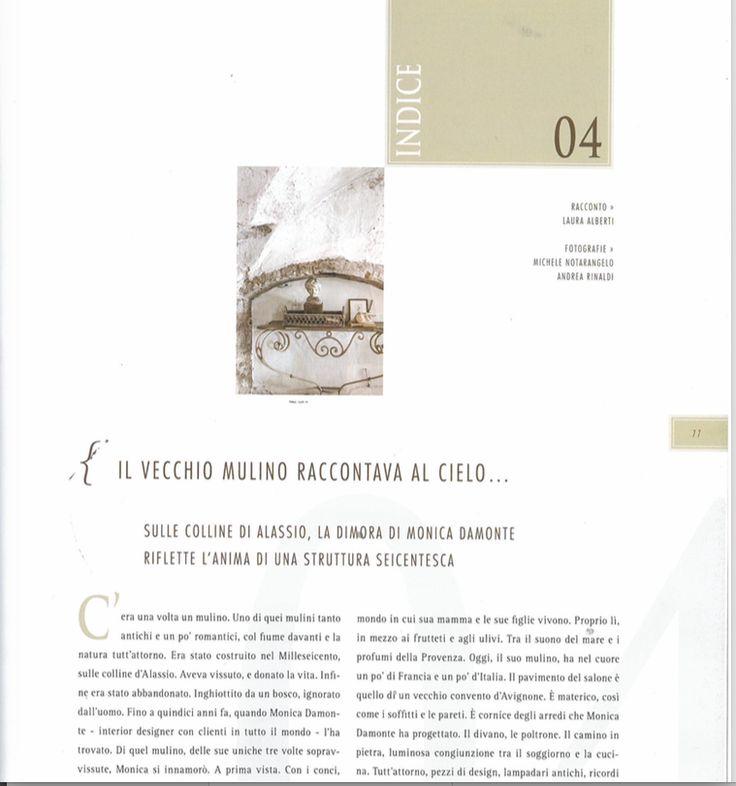 #monicadamonteinteriordesigner pubblicato quin magazine