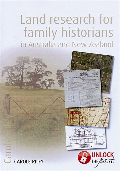 """Land Research for Family Historians in Australia and New Zealand -Previous pinner: """" My book! This book will introduce you to the main types of records you can find, such as deeds and grants, Torrens titles, Crown leases, selections and conditional purchases, closer and solder settlements, title applications, maps, and plans. We will look at what they mean and where to find them in New Zealand and each Australian state and territory."""""""