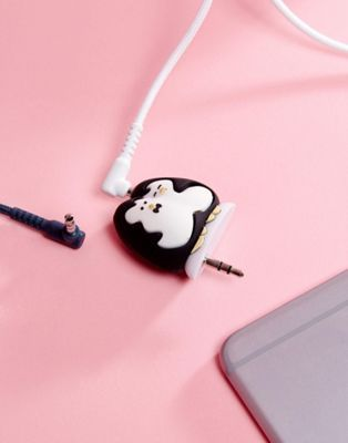 Gift Republic Penguin Headphone Splitters