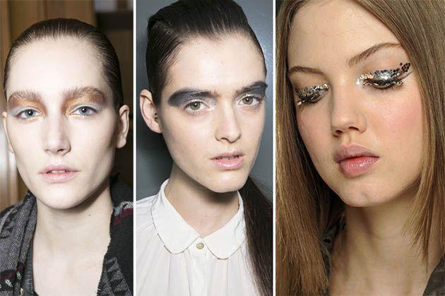 Fall/ Winter 2013-2014 Makeup Trends - Metallic Eye Makeup #makeup #beauty #makeuptrends #fall2013makeup