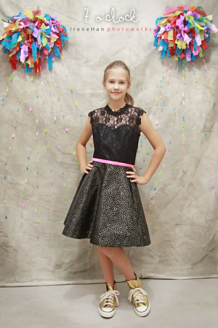 Sienna Dress | 7 o'clock couture by Agit for teens