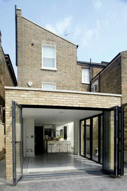 307 best images about extensions small scale on for Terrace extension ideas