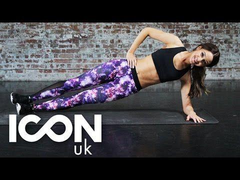 Workout: Tone Your Tummy & Core | Danielle Peazer - YouTube