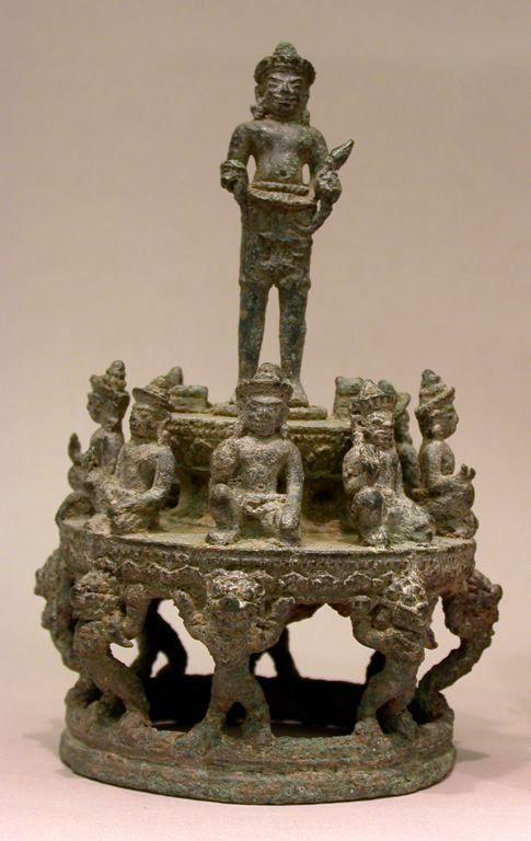 Cambodia Mandala of Surya, the Sun God, and Lesser Planetary Deities, Angkor period, 12th century Art Institute Chicago