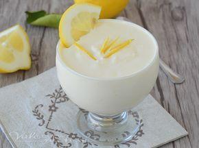 Crema al limone e mascarpone