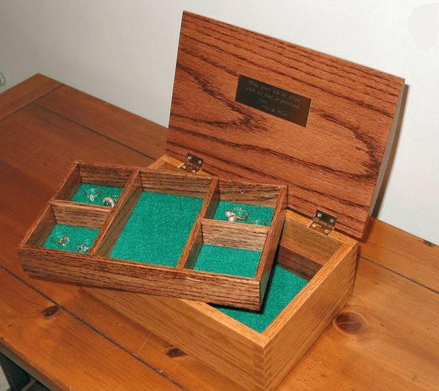 The 25 best Jewelry box plans ideas on Pinterest Wooden box