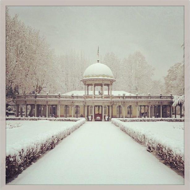 Il parco e la Cupola tutti in #bianco! #neve #snow #2012 #white #termediboario